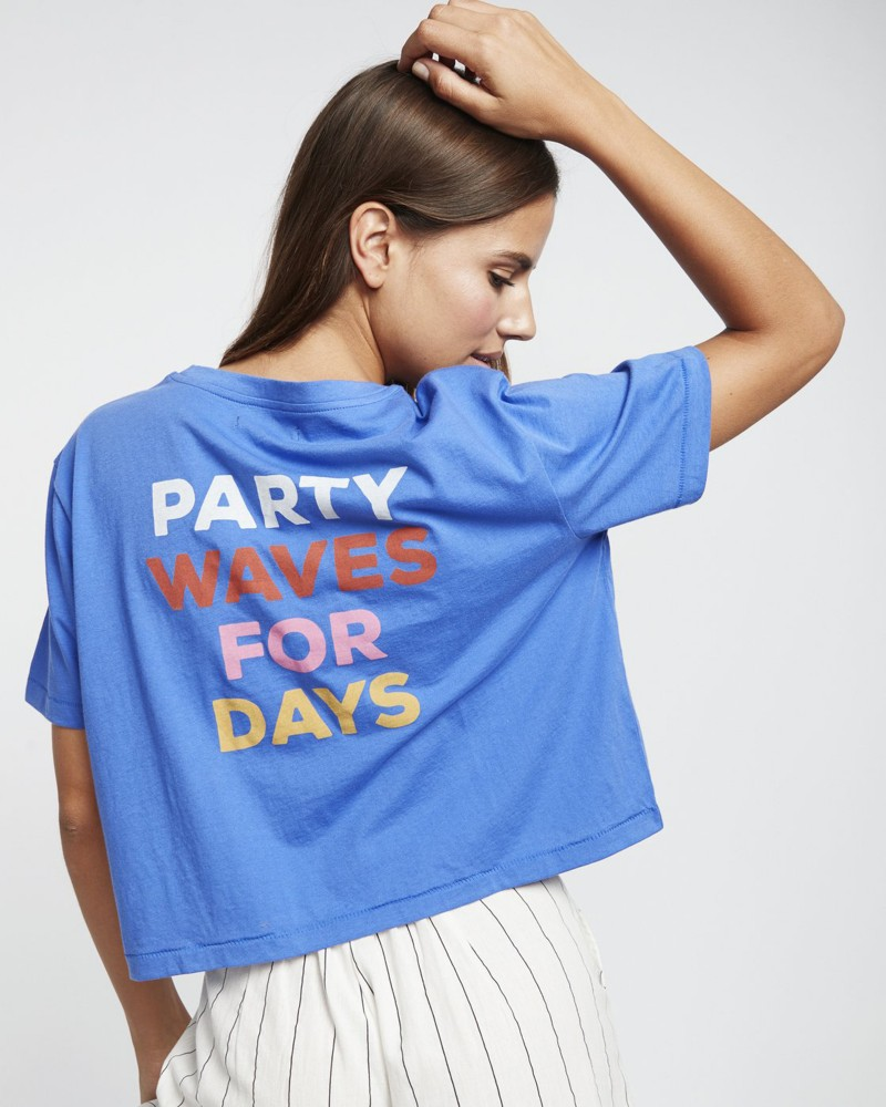 Party Waves Ss Tee